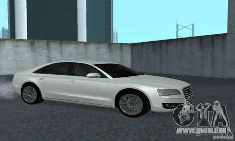 Audi A8 für GTA San Andreas Rückansicht