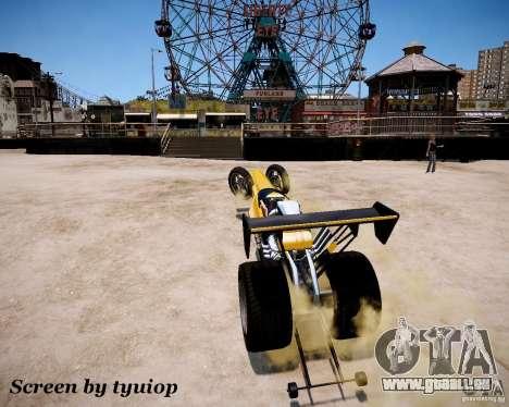 Raketomobil′ pour GTA 4 vue de dessus