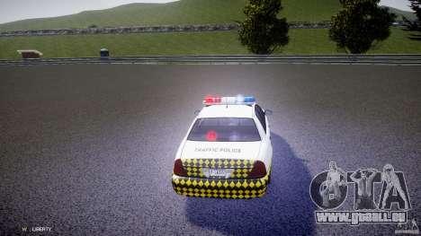 Ford Crown Victoria Karachi Traffic Police für GTA 4 Seitenansicht