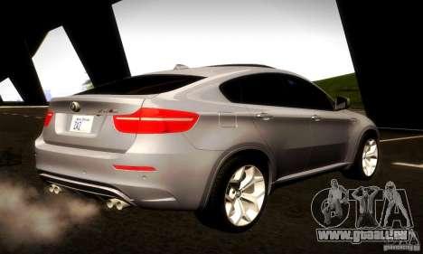 BMW X6M für GTA San Andreas Rückansicht