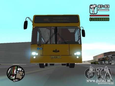 MAZ-107.466 für GTA San Andreas
