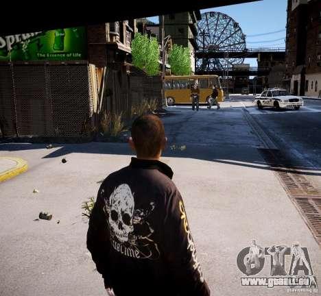 Bad Niko pour GTA 4 secondes d'écran