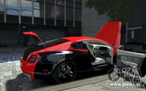 Bentley Continental SS MansorY pour GTA 4 roues