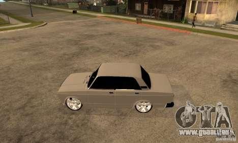 Lada VAZ 2107 LT pour GTA San Andreas laissé vue