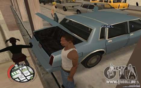 Hide Victim pour GTA San Andreas troisième écran