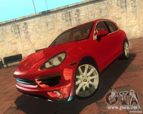 Porsche Cayenne 958 2010 V1.0 pour GTA San Andreas vue intérieure