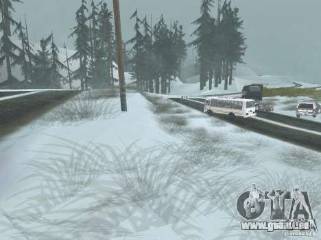 Winter für GTA San Andreas zweiten Screenshot