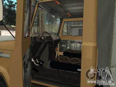 CR 3309 GAZ v2 pour GTA San Andreas vue arrière
