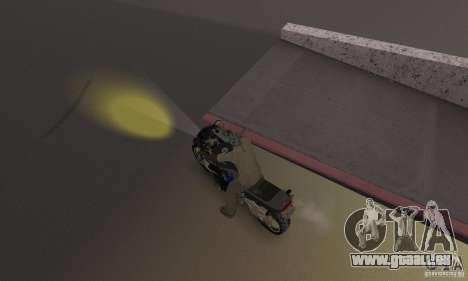 Phares jaunes pour GTA San Andreas troisième écran