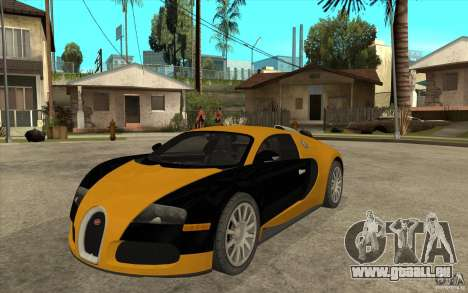 Bugatti Veyron v1.0 für GTA San Andreas