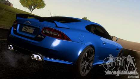 Jaguar XKR-S 2011 V1.0 pour GTA San Andreas salon