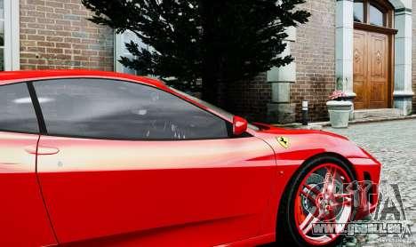 Ferrari F430 pour GTA 4 Vue arrière