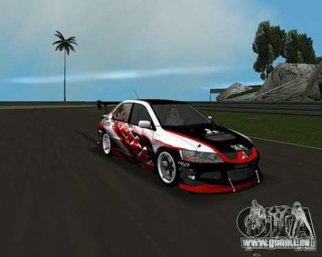 Mitsubishi Lancer Evo VIII für GTA Vice City