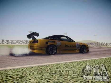 Nissan Silvia S15 Drift pour GTA San Andreas vue intérieure