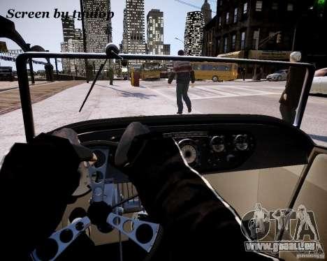 Roadster High Boy für GTA 4 Rückansicht