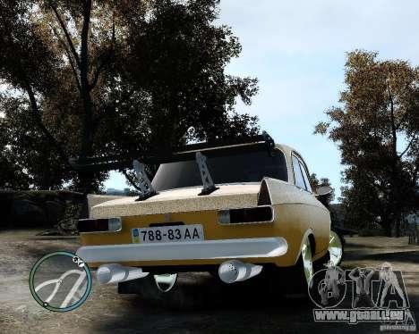 Moskvič 412 Street Racer [Alpha] für GTA 4 rechte Ansicht