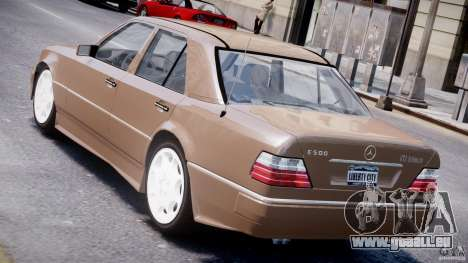 Mercedes-Benz W124 E500 1995 für GTA 4 hinten links Ansicht