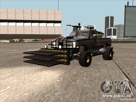Chevrolet Hunter pour GTA San Andreas sur la vue arrière gauche