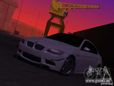 BMW M3 E92 Drift pour GTA San Andreas