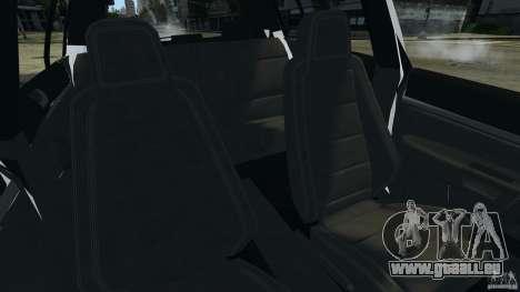 Volkswagen Golf 5 GTI South African Police [ELS] pour GTA 4 Vue arrière