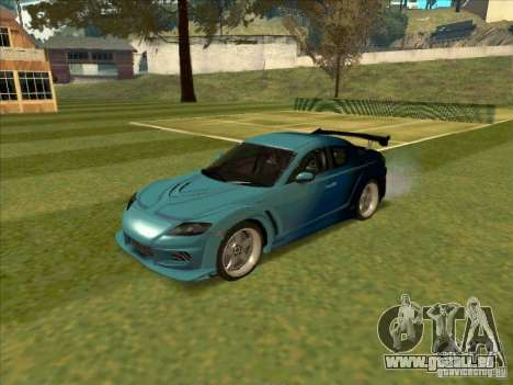 Mazda RX-8 VeilSide from Tojyo Drift pour GTA San Andreas
