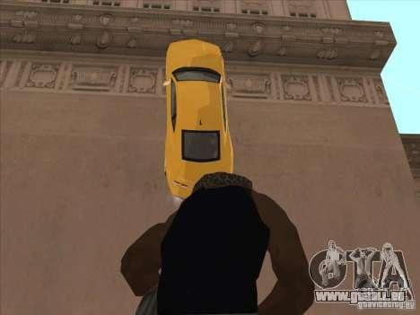 Reiten an Wänden für GTA San Andreas her Screenshot