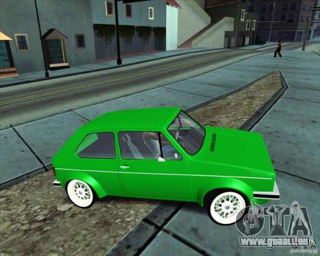 Volkswagen Golf MK 1 pour GTA San Andreas vue de droite