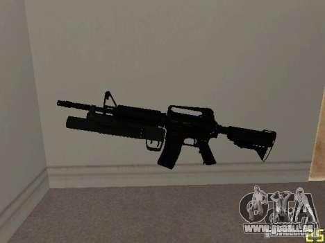M4 MOD v5 für GTA San Andreas