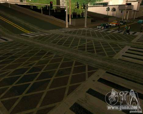 GTA 4 Roads für GTA San Andreas sechsten Screenshot