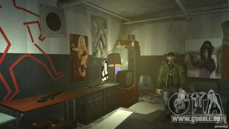 Retextured Broker Gunshop pour GTA 4 cinquième écran