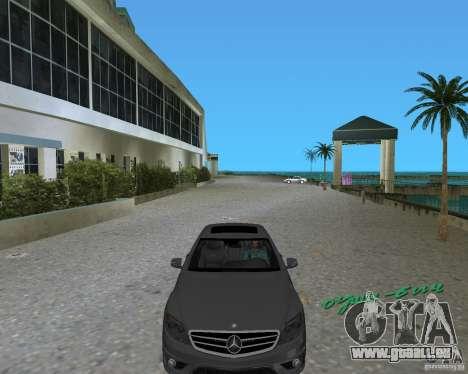 Mercedess Benz CL 65 AMG pour GTA Vice City sur la vue arrière gauche