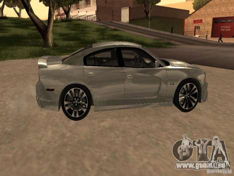 Dodge Charger SRT8 2011 V1.0 pour GTA San Andreas vue arrière