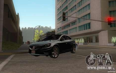 Volvo S60 2011 für GTA San Andreas Innenansicht