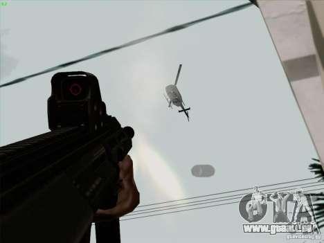 AUG-A3 Special Ops Style pour GTA San Andreas sixième écran