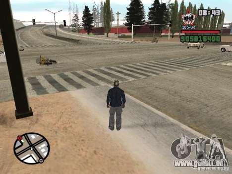 Todas Ruas v3.0 (Las Venturas) pour GTA San Andreas deuxième écran