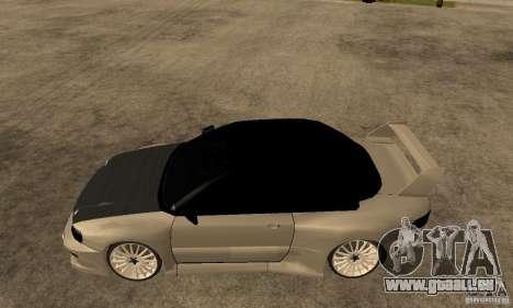 Subaru Impreza 22B STI Tuning pour GTA San Andreas laissé vue