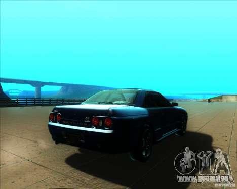 Nissan Skyline GT-R R32 1993 Tunable pour GTA San Andreas vue de côté