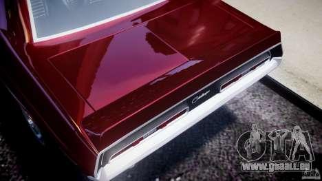 Dodge Challenger 1971 pour GTA 4 est une vue de l'intérieur