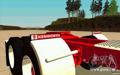 Kenworth K100 Extended Wheel Base für GTA San Andreas Seitenansicht