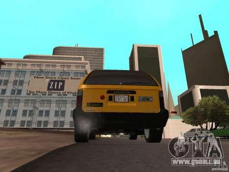 Chauffeur de taxi de GTA 4 pour GTA San Andreas laissé vue