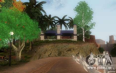 New Country Villa pour GTA San Andreas neuvième écran