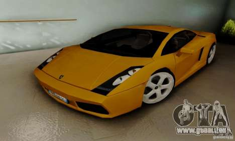 Lamborghini Gallardo für GTA San Andreas linke Ansicht