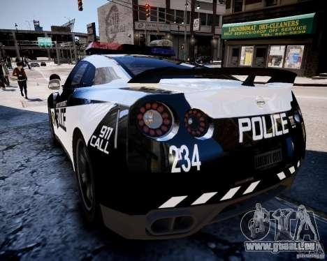 Nissan Spec GT-R Enforcer für GTA 4 hinten links Ansicht
