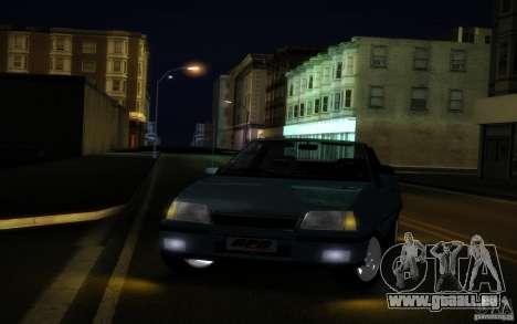 Chevrolet Kadett GSI Cabrio für GTA San Andreas Innenansicht