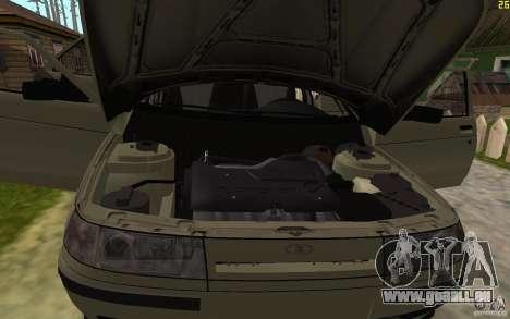 VAZ-21103 pour GTA San Andreas vue de dessous