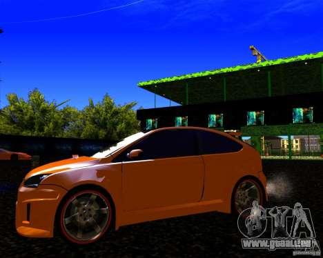 Ford Focus ST Racing Edition für GTA San Andreas Rückansicht