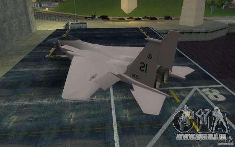 F-15 pour GTA San Andreas laissé vue