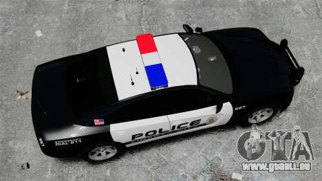 Dodge Charger 2013 Police Code 3 RX2700 v1.1 ELS für GTA 4 rechte Ansicht