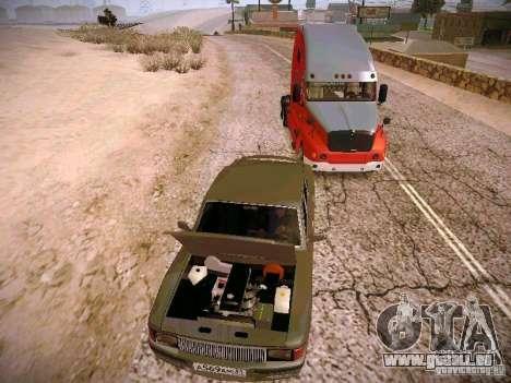 GAS-31025 für GTA San Andreas Rückansicht