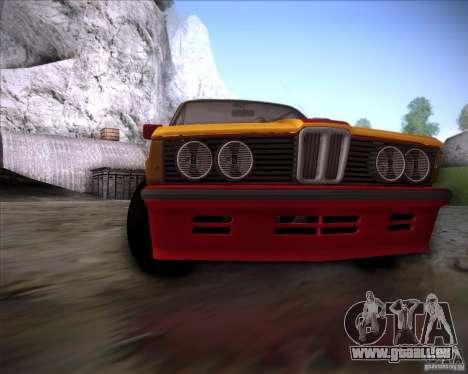 BMW E21 für GTA San Andreas Seitenansicht